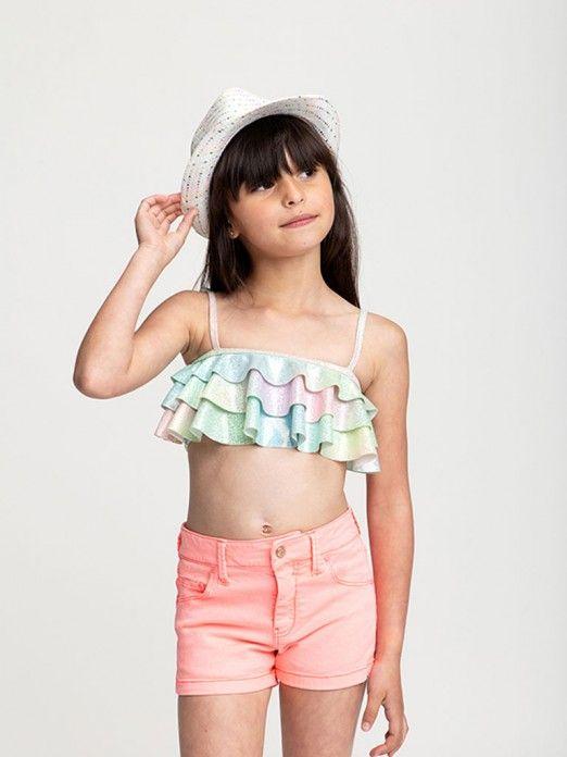 Bikini Girl Green Water Billie Blush