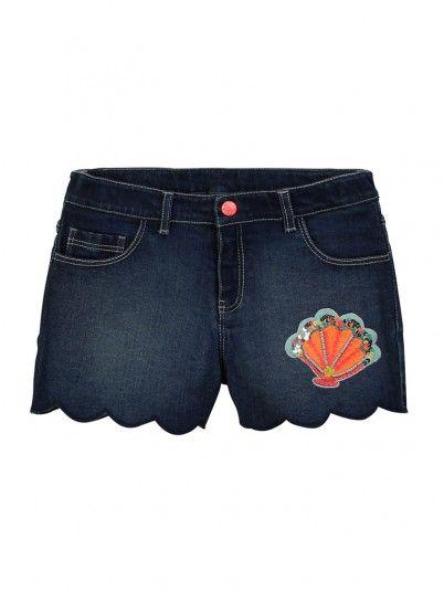 Shorts Girl Dark Jeans Billie Blush