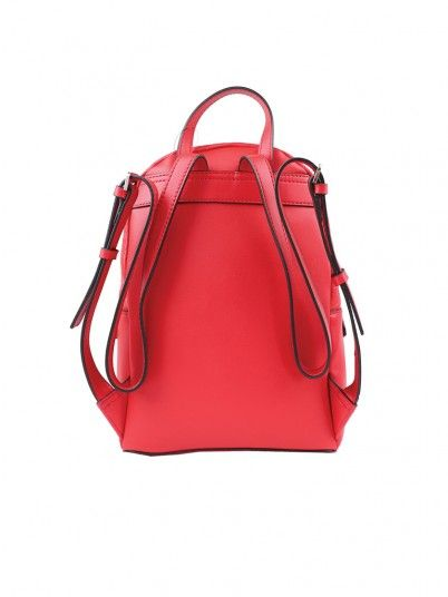Backpack Woman Red Guess