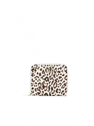 Billetera Mujer Estampado Animal Guess