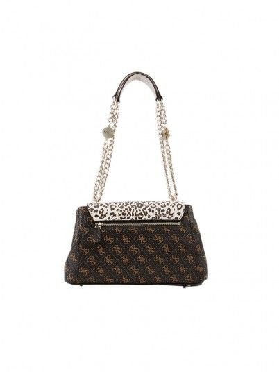 Borsa Donna Stampa Animale Guess