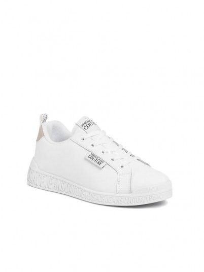Sneakers Woman Dis.65 White Versace Jeans