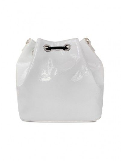 Handbag Woman Dis.5 White Versace Jeans