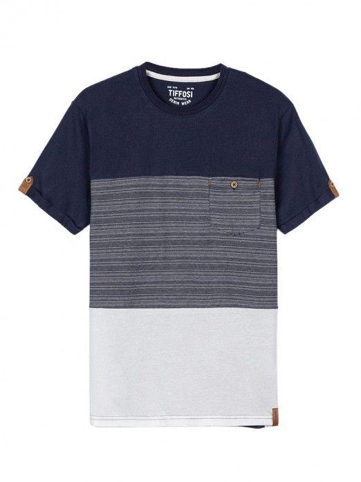 Camiseta Niño Toyama Azul Marino Tiffosi Kids