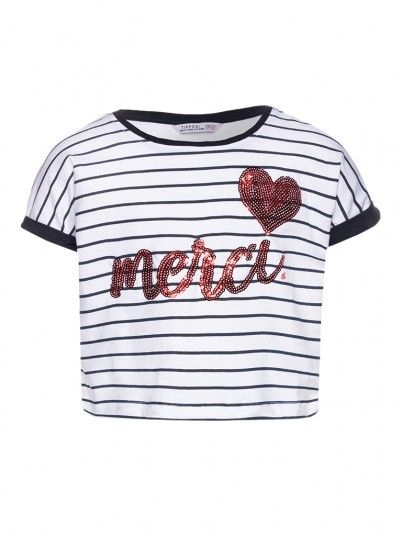 Camiseta Niña Blanco Tiffosi Kids