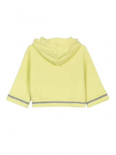 Sweatshirt Niña Verde Tiffosi Kids