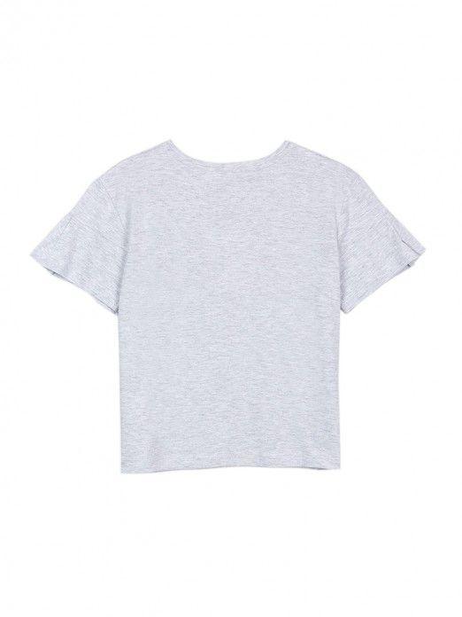 T-Shirt Girl Grey Tiffosi Kids