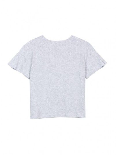 T-Shirt Girl Grey Tiffosi Kids