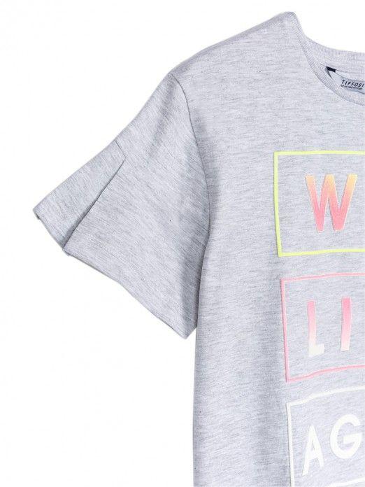 Camiseta Niña Gris Tiffosi Kids