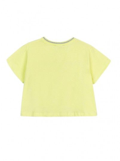 T-Shirt Girl Green Tiffosi Kids