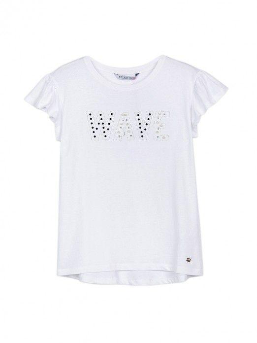 T-Shirt Menina Cannella Tiffosi