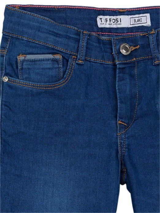 Jeans Girl Dark Jeans Tiffosi Kids