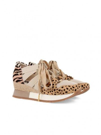 Sneakers Woman Beige Gioseppo