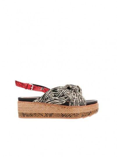 Sandalias Mujer Negro Gioseppo