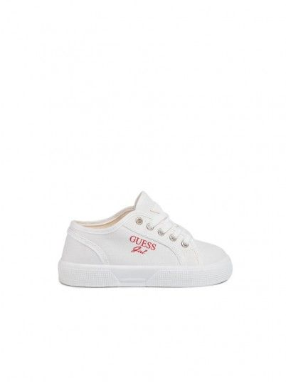Sneakers Girl Piuma White Guess Kids