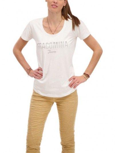 T-Shirt Woman White Fracomina