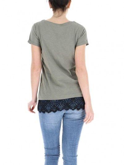 T-Shirt Woman Green Fracomina