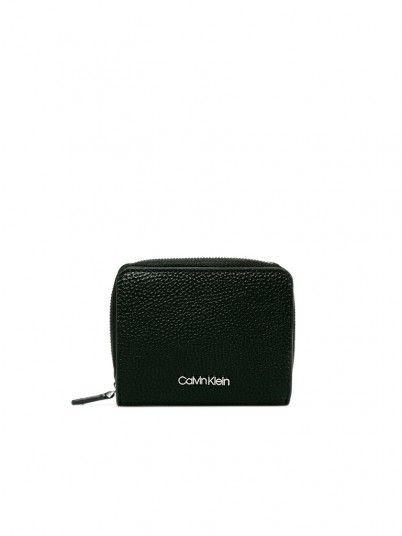 Wallet Woman Sided Black Calvin Klein