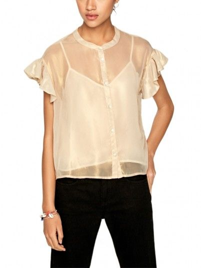 Blouse Woman Golden Pepe Jeans London