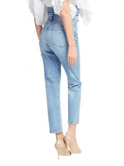 Jeans Mulher Girl Pin Up Guess