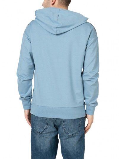 Sweatshirt Man Blue Jack & Jones