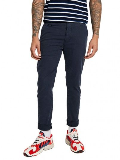 Pants Man Chino Navy Blue Levis