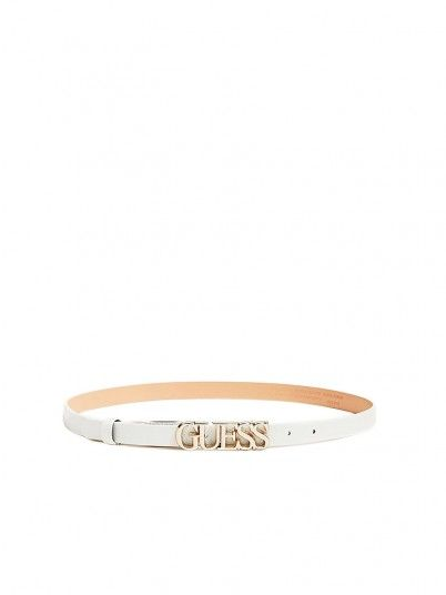 Belt Woman White Guess
