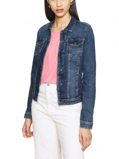 Cappotto Donna Westa Jeans Scuri Only