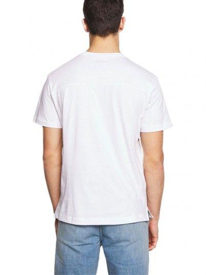 T-Shirt Man White Calvin Klein