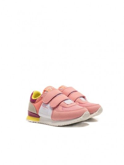 Sneakers Ragazza Rosa Pepe Jeans London
