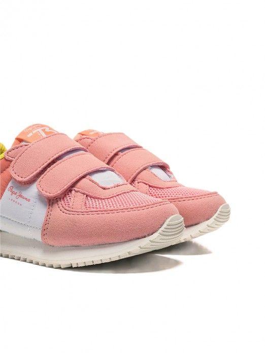 Sneakers Girl Rose Pepe Jeans London