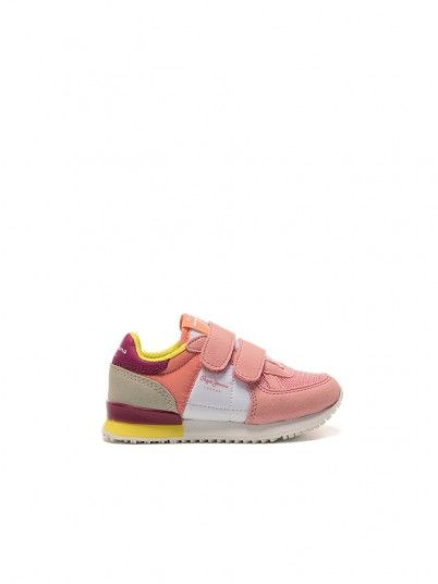 Tenis Fille Rose Pepe Jeans London