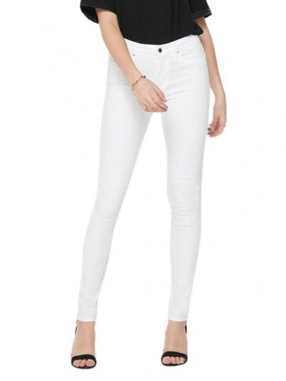 Pants Woman White Only
