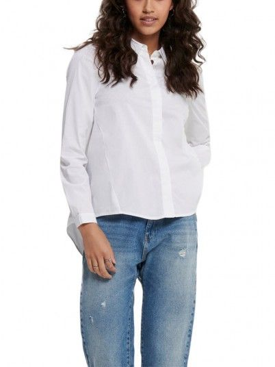 Camisa Mujer Sacra Blanco Only