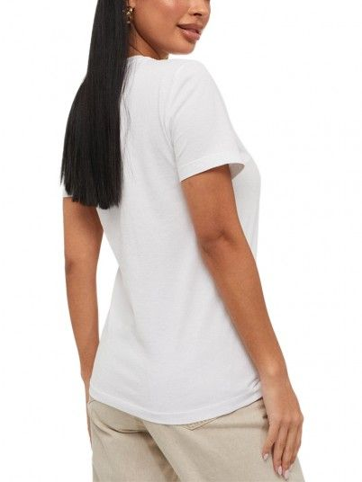 T-Shirt Woman White Only