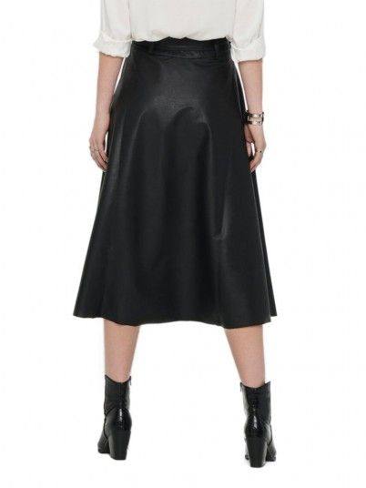 Skirt Woman Bella Black Only