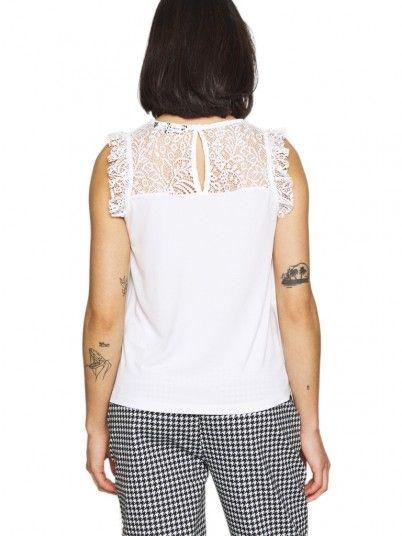 Blusa Mujer Alberta Blanco Vero Moda