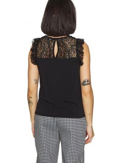 Shirt Woman Alberta Black Vero Moda