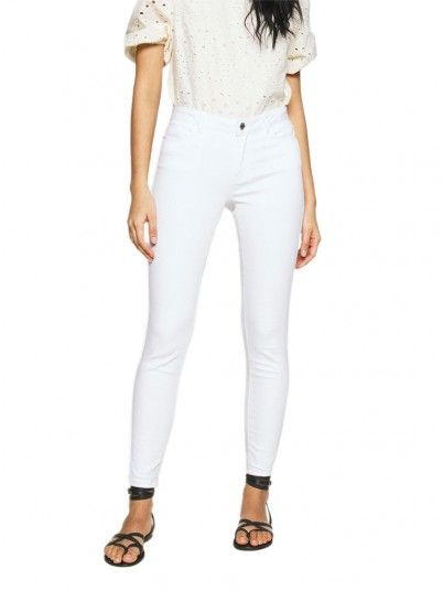 Pants Woman Julia White Vero Moda