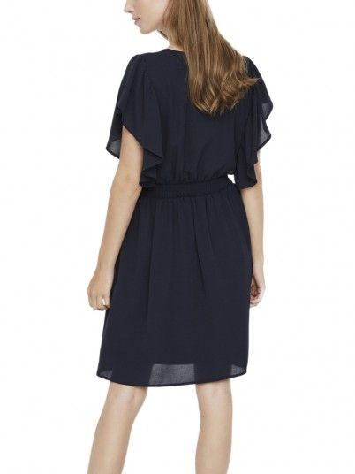 Dress Woman Sasha Navy Blue Vero Moda