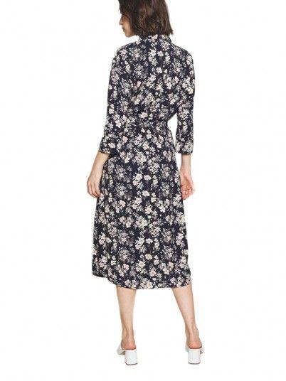 Dress Woman Diana Navy Blue Vero Moda