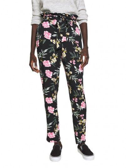 Pants Woman Simply Floral Vero Moda