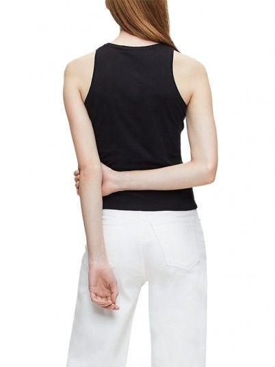 Shirt Woman Degrade Black Calvin Klein