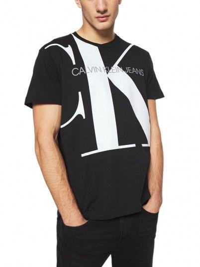 T-Shirt Uomo Nero Calvin Klein