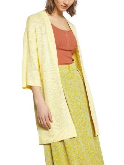 Jacket Woman Yellow Vila