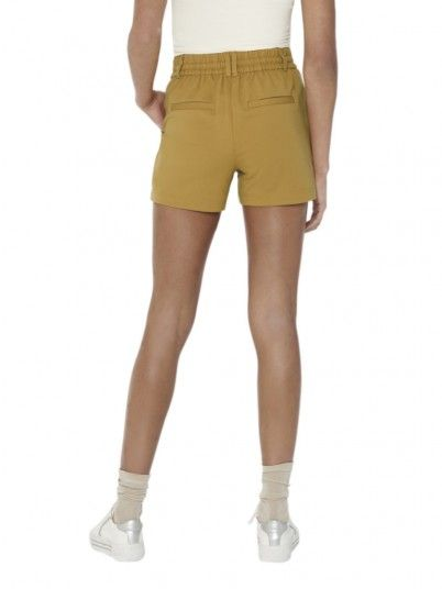 Shorts Woman Easy Yellow Only