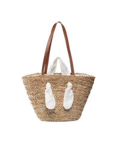 Handbag Woman Gedre Beige Gioseppo