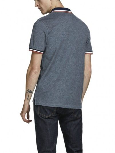 Polo Homme Bleu Jack & Jones