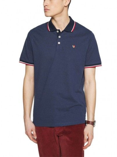 Pole Man Bluwin Dark Blue Jack & Jones