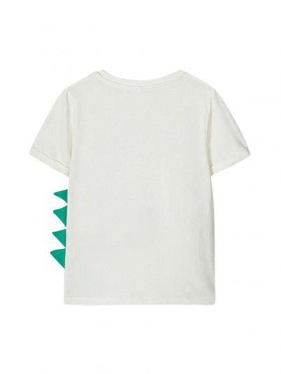 T-Shirt Ragazzo Crema Name It